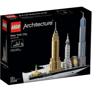 LEGO Architecture: New York 21028, 12 ani+, 598 piese