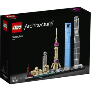 LEGO Architecture: Shanghai 21039, 12 ani+, 597 piese