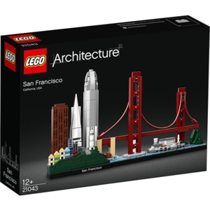LEGO Architecture: San Francisco 21043, 12 ani+, 565 piese