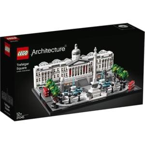 LEGO Architecture: Piata Trafalgar 21045, 12 ani+, 1197 piese