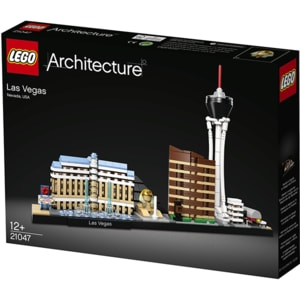 LEGO Architecture: Las Vegas 21047, 12 ani+, 501 piese
