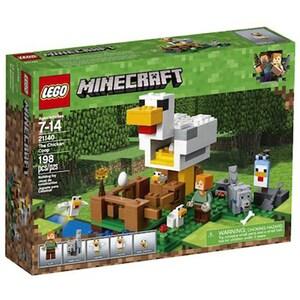 LEGO Minecraft: Cotetul de gaini 21140, 7 - 14 ani, 198 piese