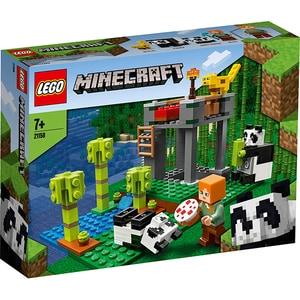LEGO Minecraft: Gradinita panda 21158, 7 ani+, 204 piese