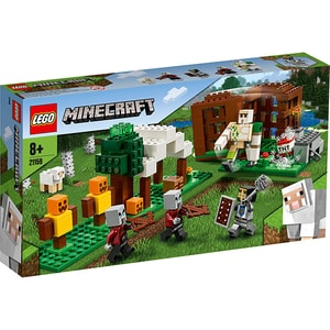 LEGO Minecraft: Pillager Outpost 21159, 8 ani+, 303 piese