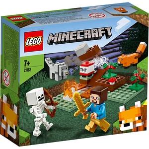 LEGO Minecraft: Aventura din Taiga 21162, 7 ani+, 74 piese