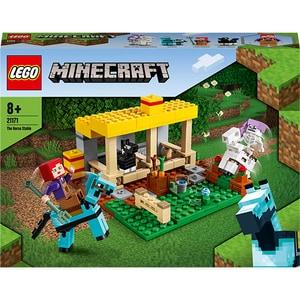 LEGO Minecraft: Grajdul pentru cai 21171, 8 ani+, 241 piese