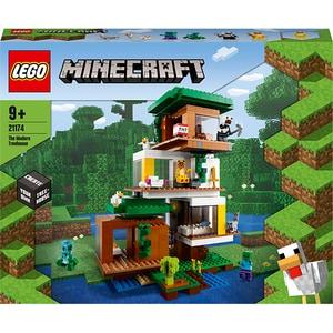 LEGO Minecraft: Casuta din copac 21174, 9 ani+, 909 piese