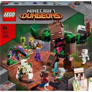 LEGO Minecraft: Monstrul din jungla 21176, 8 ani+, 489 piese