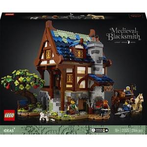LEGO Ideas: Fierar medieval 21325, 18 ani+, 2164 piese