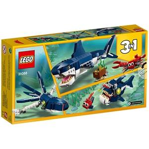 LEGO Creator: Creaturi marine din adancuri 31088, 7 ani+, 230 piese
