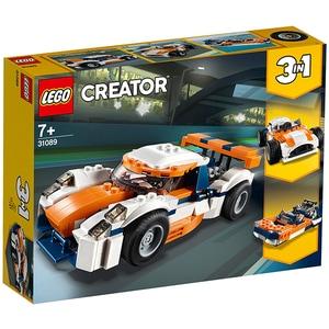 LEGO Creator: Masina de curse Sunset 31089, 7 ani+, 221 piese