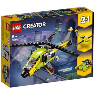LEGO Creator: Aventura cu elicopterul 31092, 6 ani+, 114 piese