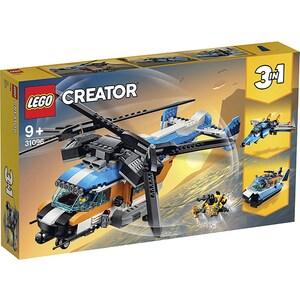 LEGO Creator: Elicopter cu rotor dublu 31096, 9 ani+, 569 piese