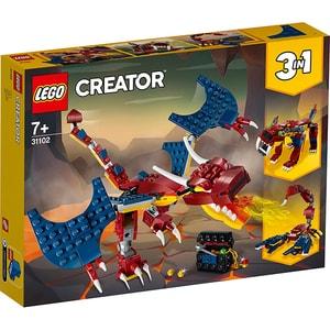LEGO Creator: Dragon de foc 31102, 7 ani+, 234 piese