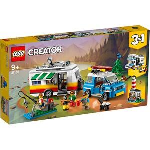 LEGO Creator: Vacanta în familie cu rulota 31108, 9 ani+, 766 piese