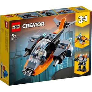 LEGO Creator: Drona cibernetica 31111, 6 ani+, 113 piese