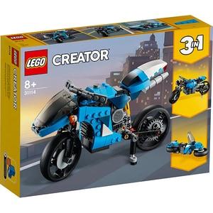 LEGO Creator: Super motocicleta 31114, 8 ani+, 236 piese