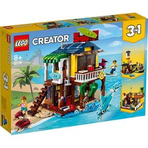 LEGO Creator: Casa de pe plaja a surferilor 31118, 8 ani+, 564 piese