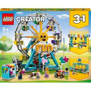 LEGO Creator: Roata din parcul de distractii 31119, 9 ani+, 1002 piese