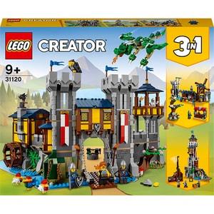 LEGO Creator: Castel medieval 31120, 9 ani+, 1426 piese