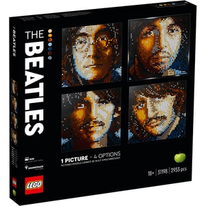 LEGO Art: The Beatles 31198, 18 ani+, 2933 piese