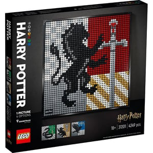 LEGO Art: Harry Potter Hogwarts Crests 31201, 18 ani+, 4249 piese