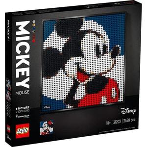 LEGO Art: Disney's Mickey Mouse 31202, 18 ani+, 2658 piese