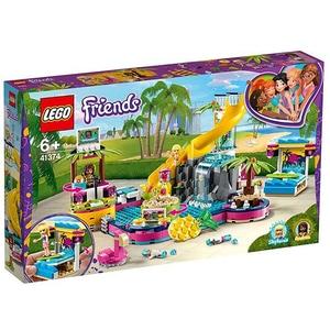 LEGO Friends: Petrecerea la piscina a Andreei 41374, 6 ani+, 468 piese