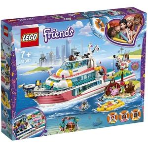 LEGO Friends: Barca pentru misiuni de salvare 41381, 7 ani+, 602 piese