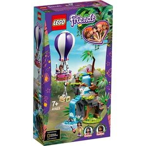 LEGO Friends: Salvarea tigrului din jungla cu balonul de aer cald 41423, 7 ani+, 302 piese