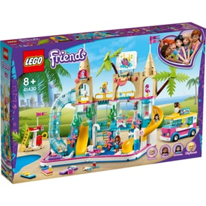 LEGO Friends: Parc acvatic distractiv 41430, 8 ani+, 1001 piese
