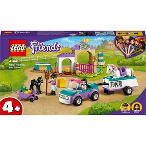 LEGO Friends: Remorca si dresaj de cai 41441, 4 ani+, 148 piese