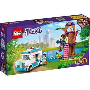 LEGO Friends: Ambulanta clinicii veterinare 41445, 6 ani+, 304 piese