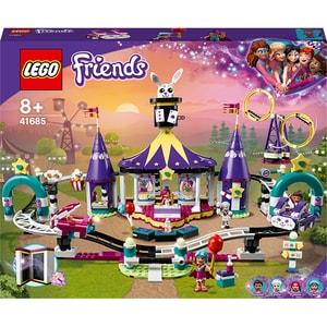 LEGO Friends: Roller coaster magic in parcul de distra 41685, 8 ani+, 974 piese