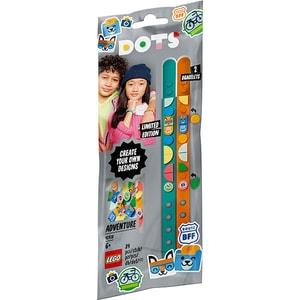 LEGO Dots: Bratari Aventuri colorate 41918, 6 ani+, 34 piese