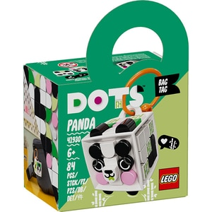 LEGO Dots: Breloc Panda 41930, 6 ani+, 84 piese