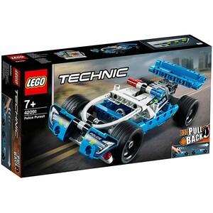 LEGO Technic: Urmarirea politiei 42091, 7 ani+, 120 piese