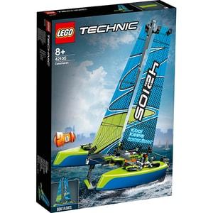 LEGO Technic: Catamaran 42105, 8 ani+, 404 piese