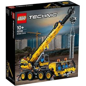 LEGO Technic: Macara mobila 42108, 10 ani+, 1292 piese