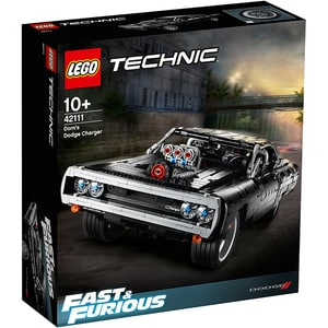 LEGO Technic: Dom's Dodge Charger 42111, 10 ani+, 1077 piese