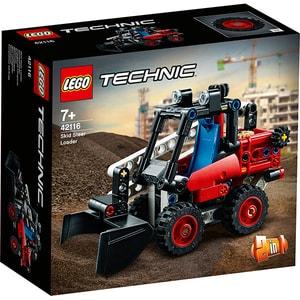 LEGO Technic: Mini incarcator 42116, 7 ani+, 140 piese