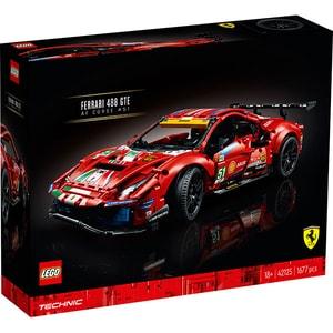 "LEGO Technic: Ferrari 488 GTE ""AF Corse #51"" 42125, 18 ani+, 1677 piese"