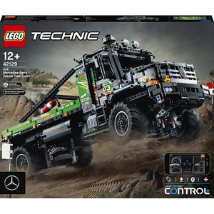 LEGO Technic: Camion de testări 4x4 Mercedes-Benz 42129, 12 ani+, 2110 piese