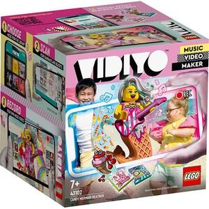 LEGO Vidiyo: Candy Mermaid BeatBox 43102, 7 ani+, 71 piese