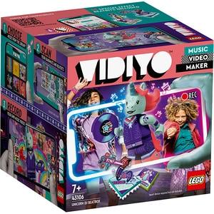 LEGO Vidiyo: Unicorn DJ 43106, 7 ani+, 84 piese