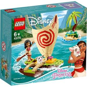 LEGO Disney Princess: Aventura pe ocean a Moanei 43170, 6 ani+, 46 piese