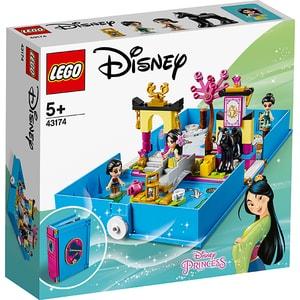 LEGO Disney Princess: Aventuri din cartea de povesti cu Mulan 43174, 5 ani+, 124 piese