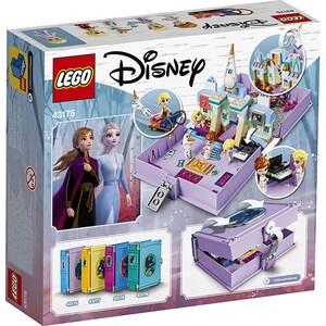 LEGO Disney Princess: Aventuri din cartea de povesti cu Anna si Elsa 43175, 5 ani+, 133 piese