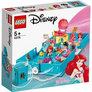 LEGO Disney Princess: Aventuri din cartea de povesti cu Ariel 43176, 5 ani+, 105 piese