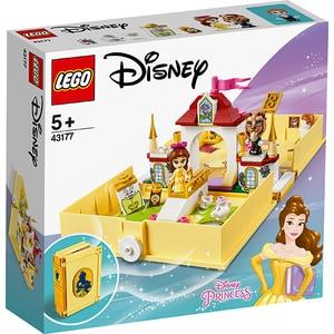 LEGO Disney Princess: Aventuri din cartea de povesti cu Belle 43177, 5 ani+, 111 piese